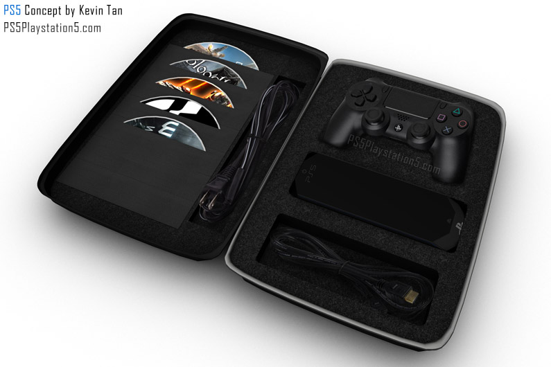 PS5 Portable Packed In Carrying Case
