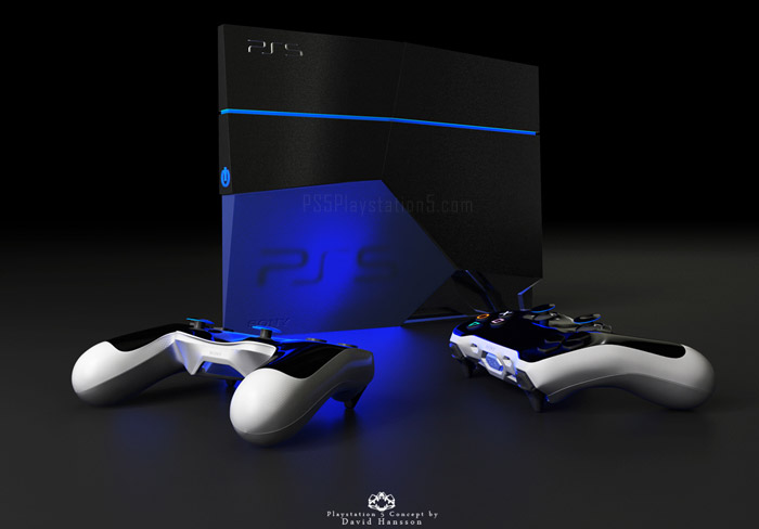 PS5 Console Concept Design David Hansson