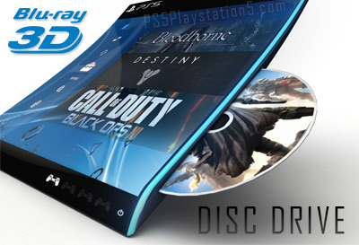 PS5 optical disc drive