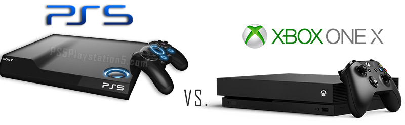 PS5 vs XBox One X