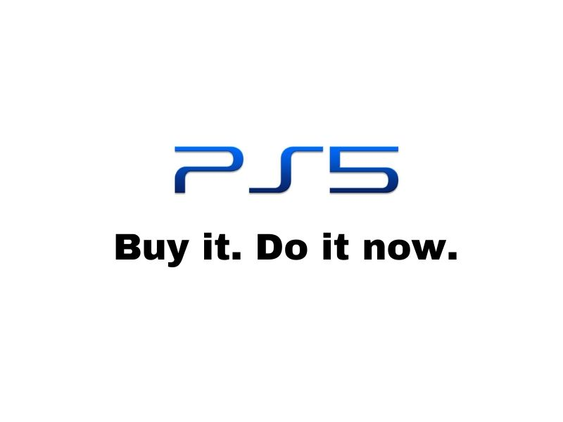 buy the new playstation