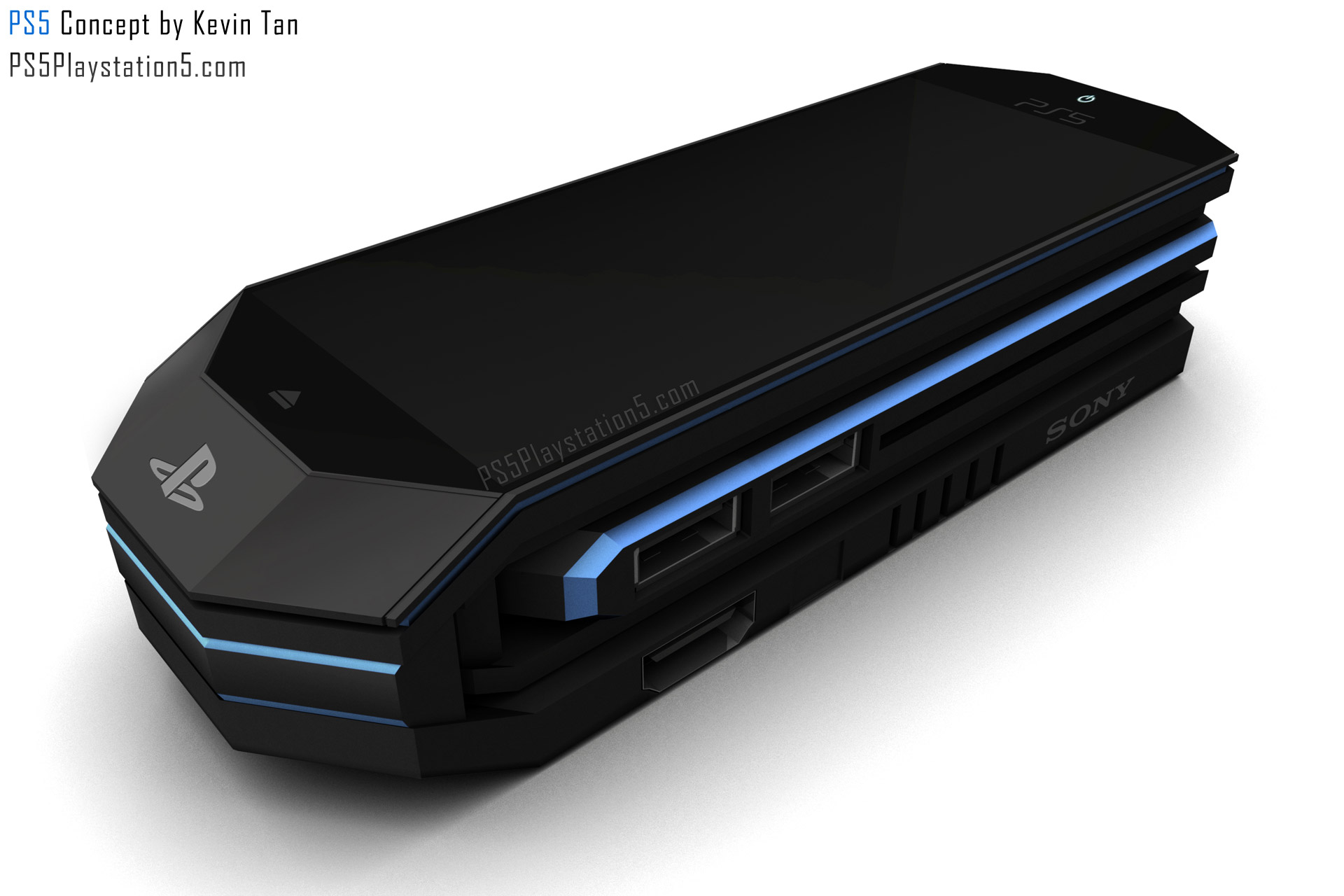 PS5 Transformer Portable Concept By Kevin Tan