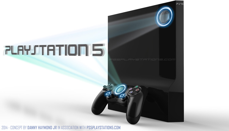 Playstation 5 Concept Design - Console & Controller