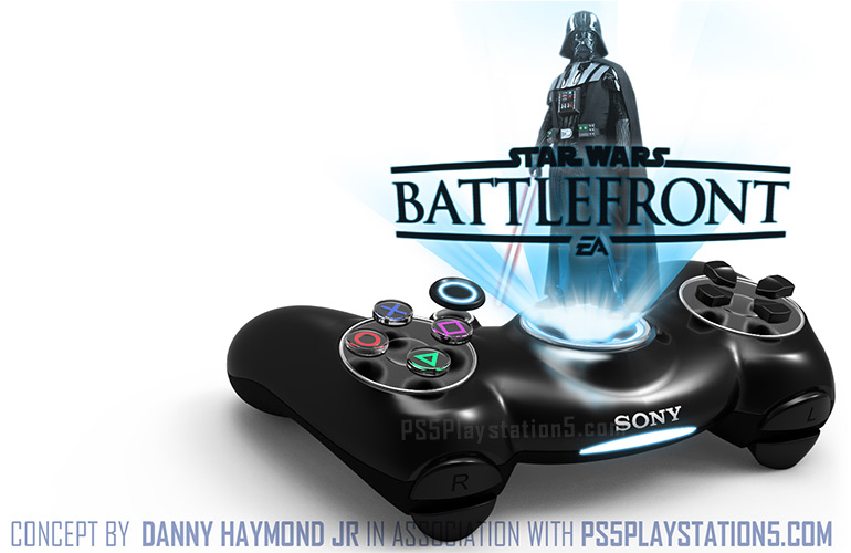 PS5 Dualshock 5 Star Wars Battlefront