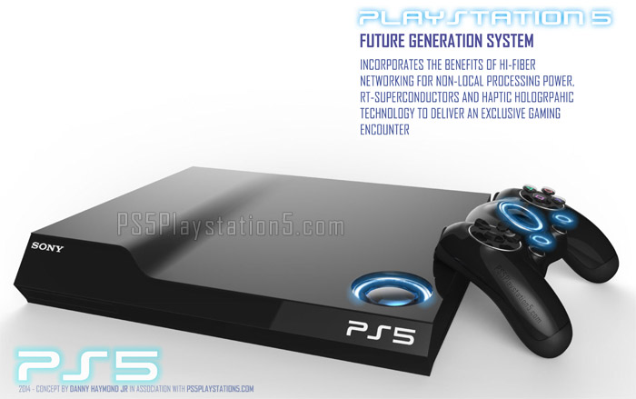 Playstation 5 Concept Designs - Console & Controller