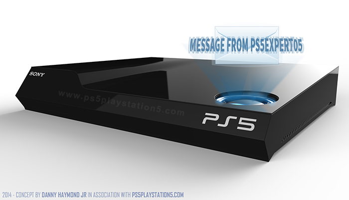 Playstation 5 Concept Designs - Console