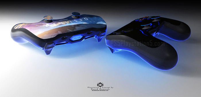 PS5 Controllers by David Hansson