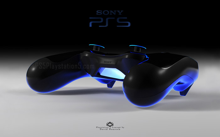 PS5 Controller by David Hansson
